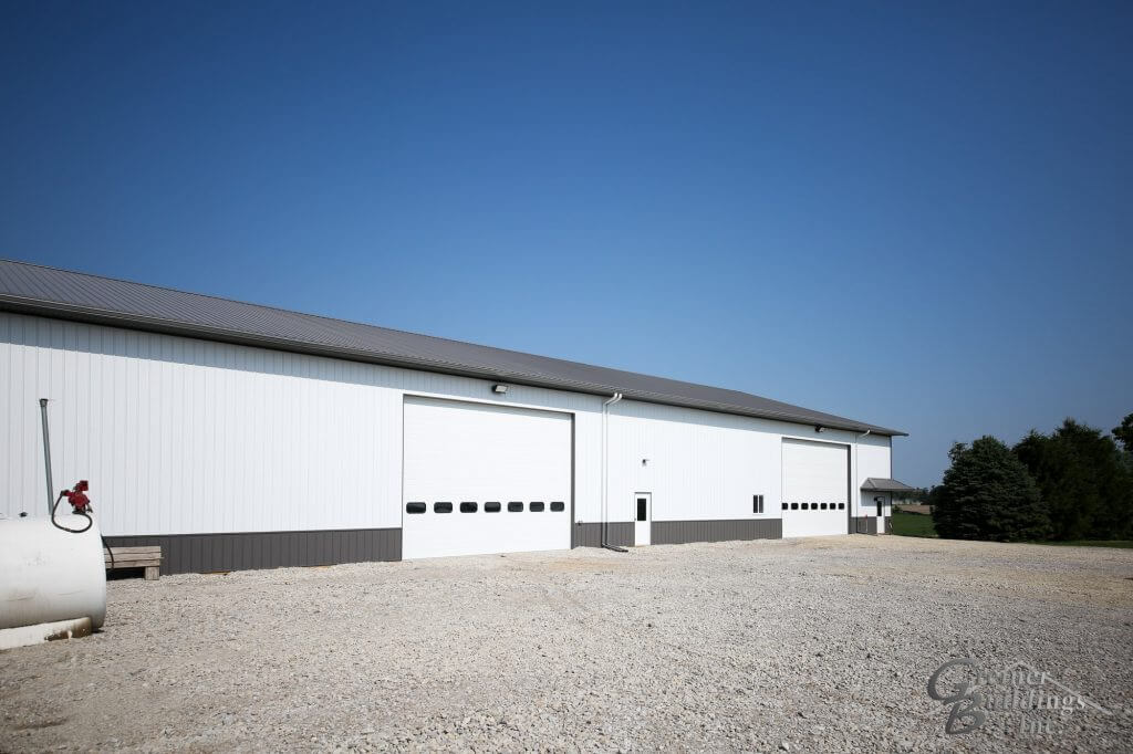 Iowa Post Frame Farm Shop