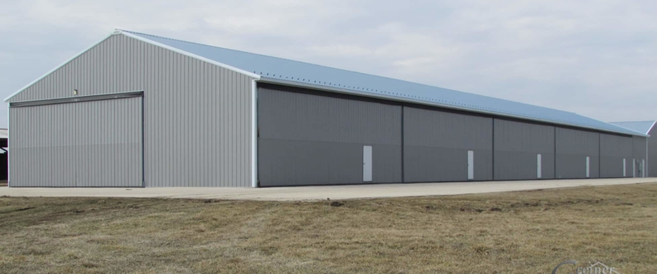 airplane hangar building builder