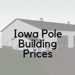 iowa pole barn/building prices