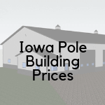 iowa pole barn/building prices