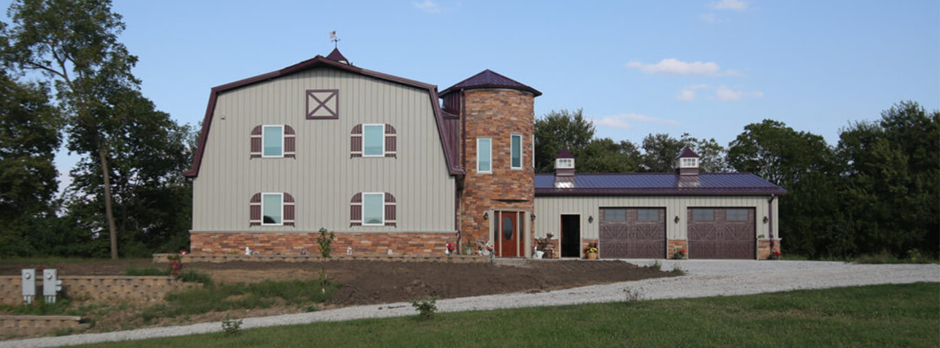 Iowa pole building