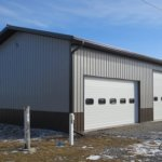 Wellman IA Post Frame Building - Shop