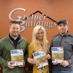 Greiner Buildings on cover of Rural Builder Feb 2019 IMG951656