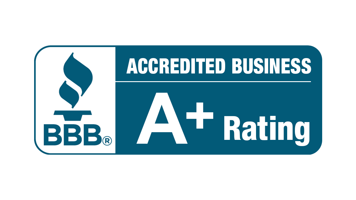 better business logo accredited A plus rating for greiner buildings
