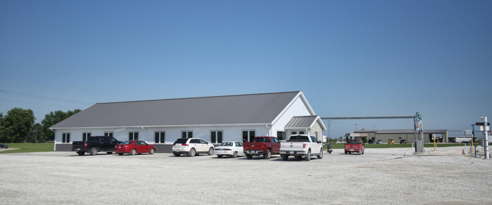 commercial pole building in iowa