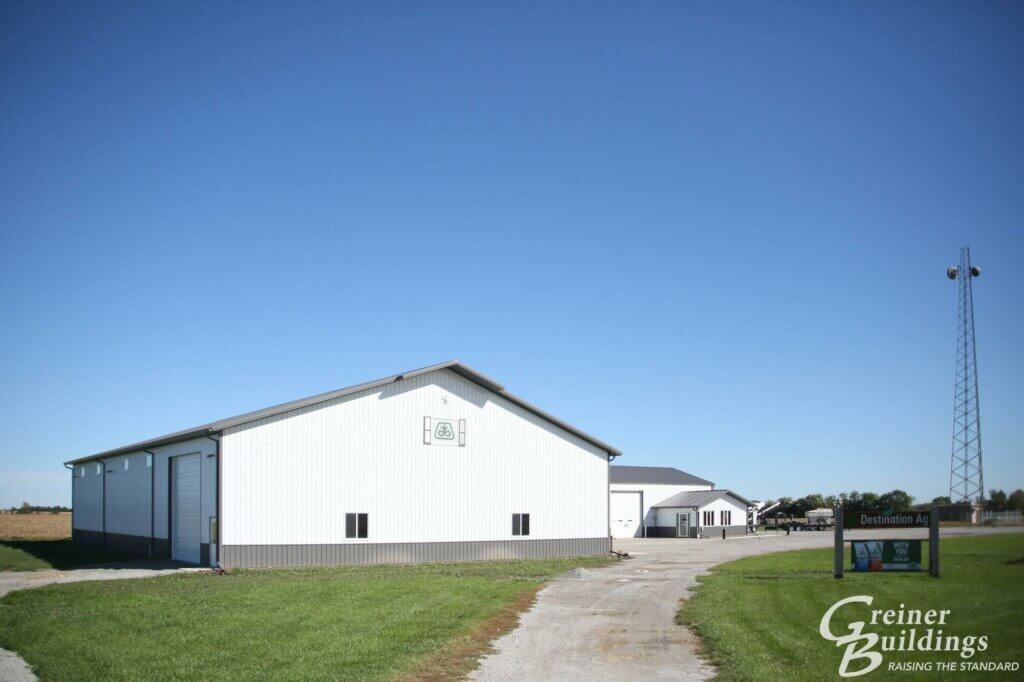 commercial ag pole building in iowa