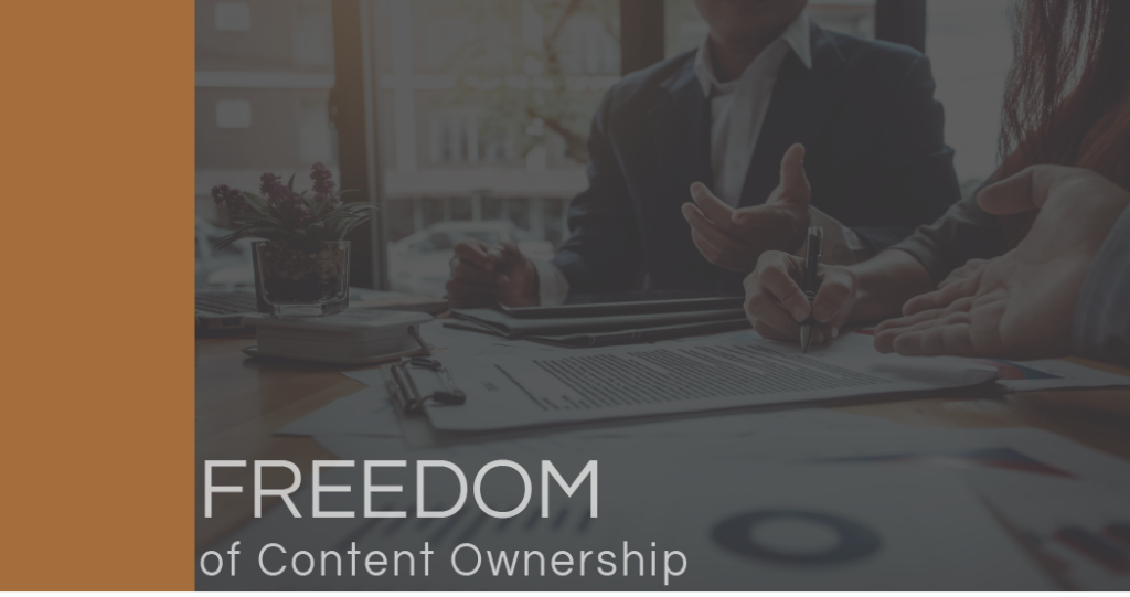 Marketing Content Ownership