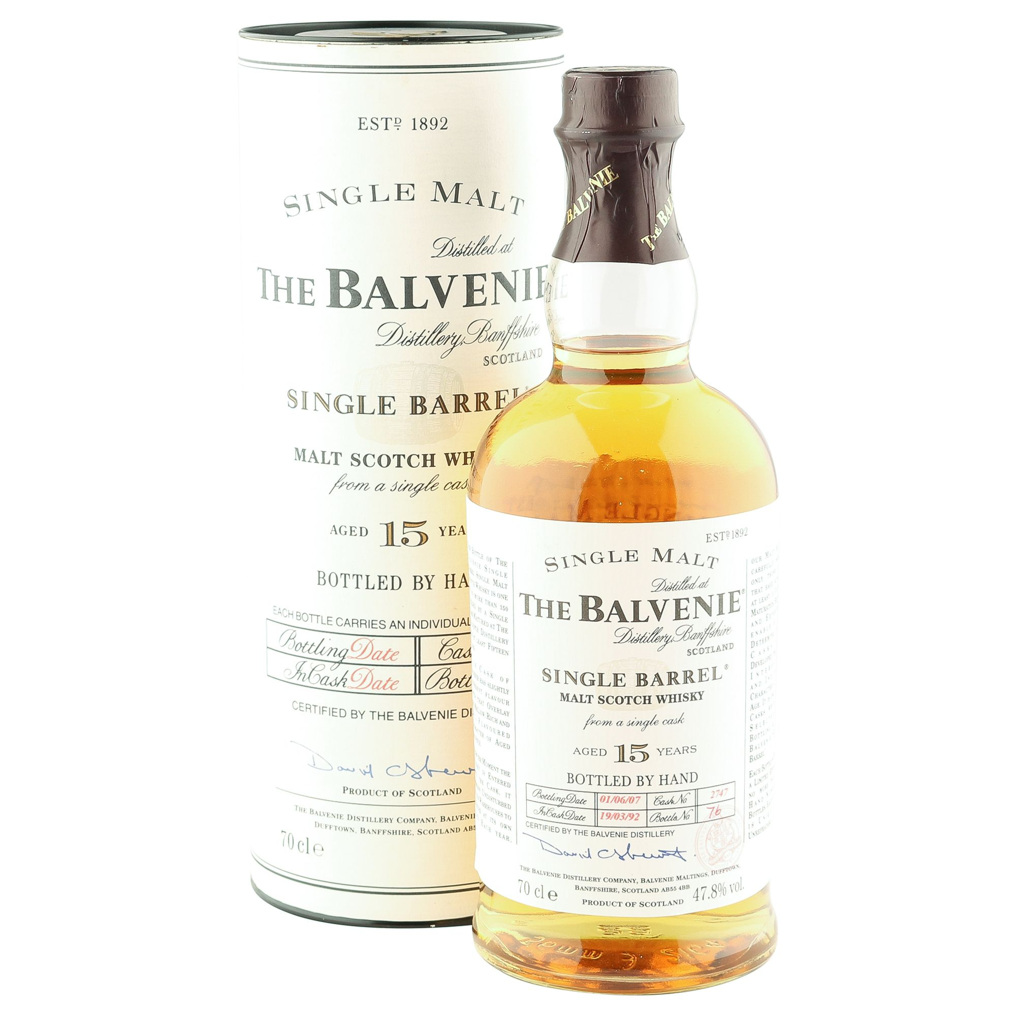 Balvenie Single Barrel 15 Year