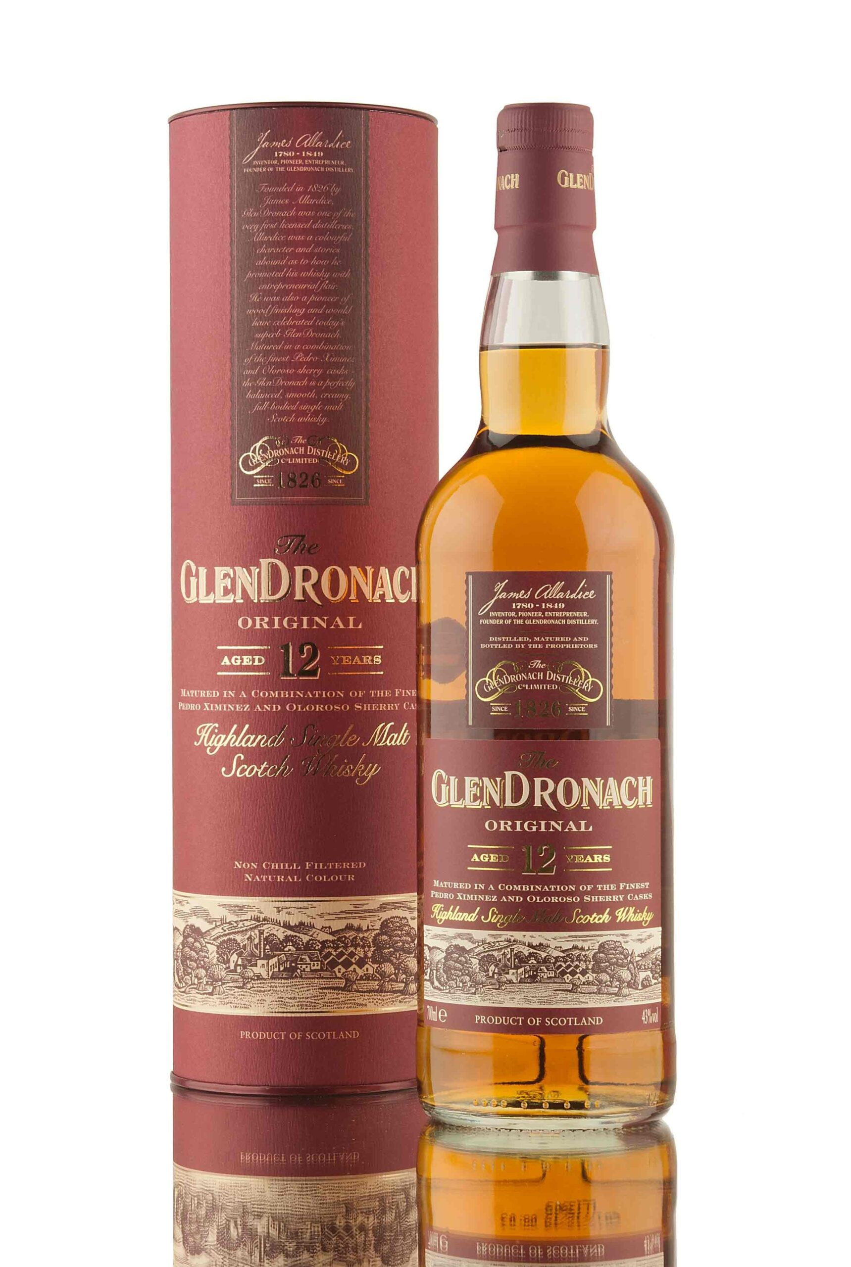 Glendronach Original, 12 Year Sherry Bomb