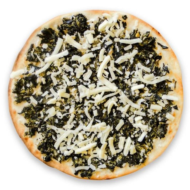 spinach with cheese manakeesh