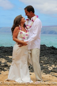 Affordable simple maui wedding ceremony