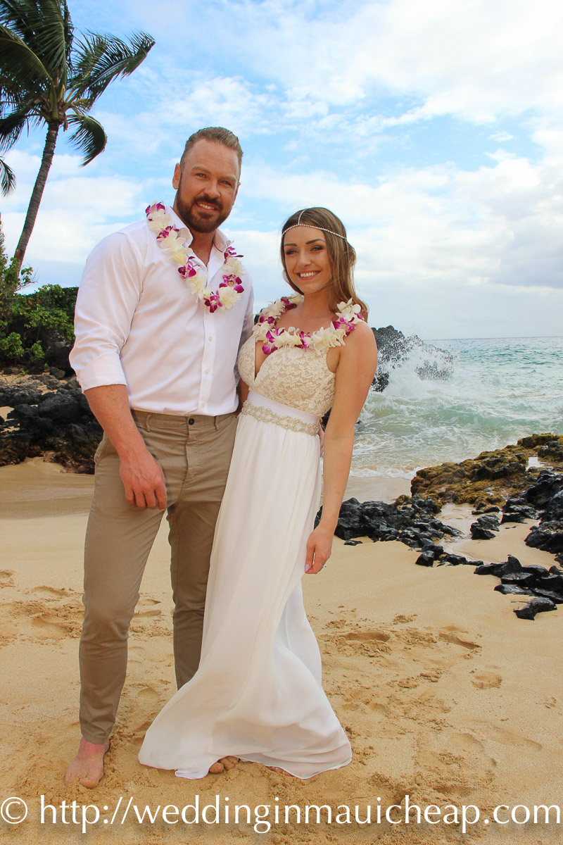 Maui Elopement Packages $699 (Hawaiian Themed)