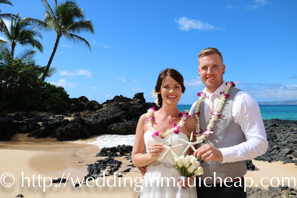 Affordable Maui Beach Weddings, Ceremony Photo Packages, Simple Maui Beach Weddings photojournalistic