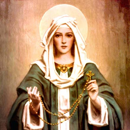 Mary invites you to pray the Rosary