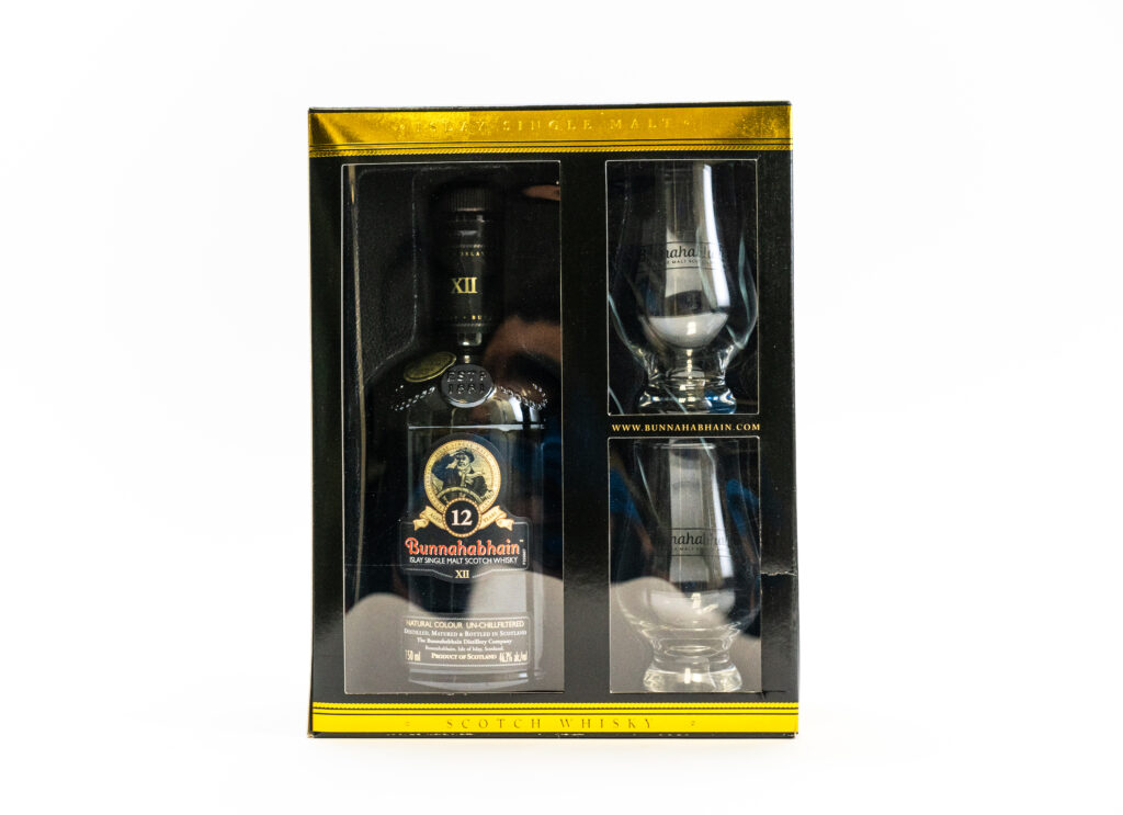 rum gift with purchase value added packaging