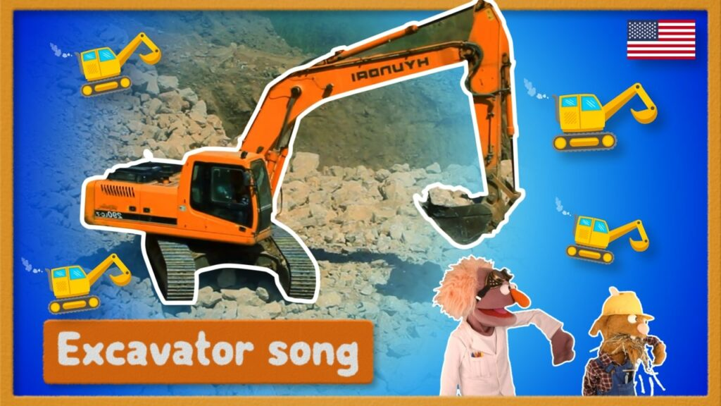 Excavator Song Youtube Thumbnail