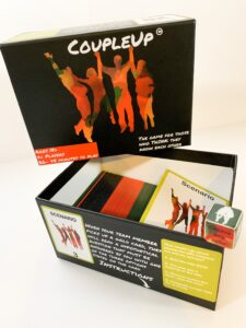 1 copy of the CoupleUp card game box and cards