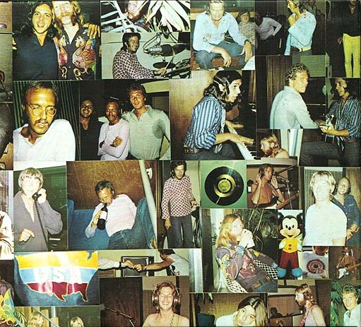 """ron and howard albert -- """"Layla"""" sessions photo collage"""