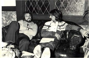 Ron Albert and Stephen K. Peeples, 1979. Photo: Henry Diltz.