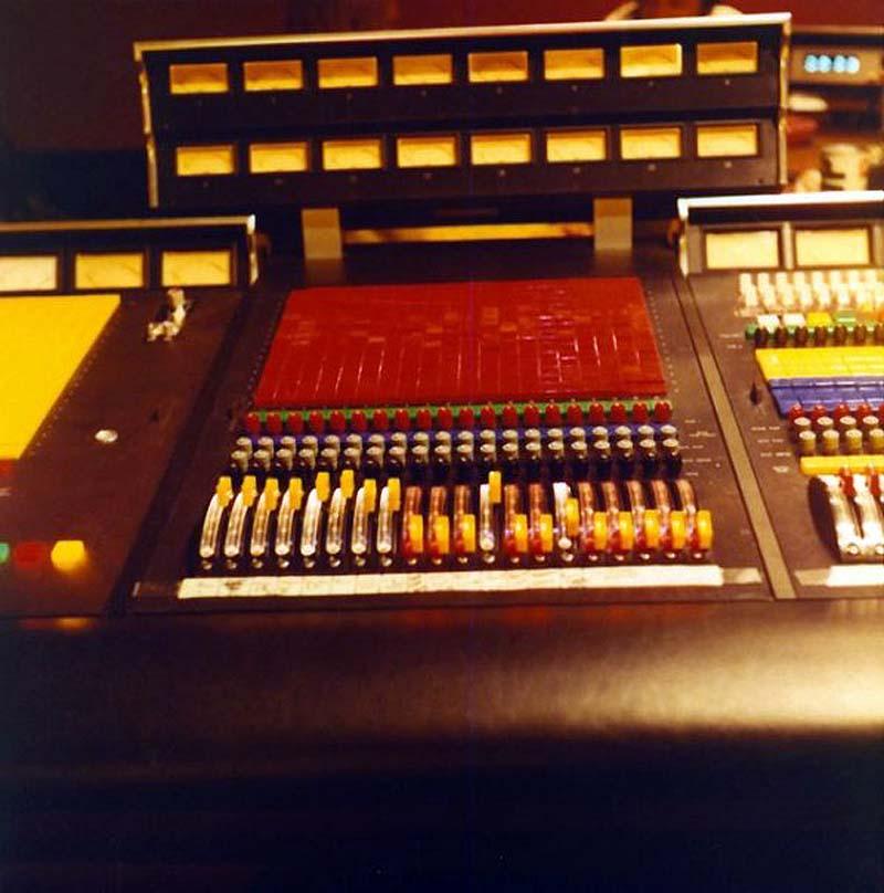 ron and howard albert - Studio B console