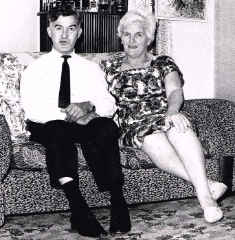 Harry and Louise Harrison.