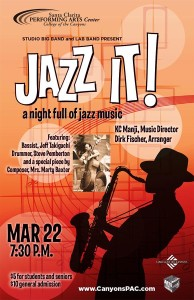 Jazz It! flyer
