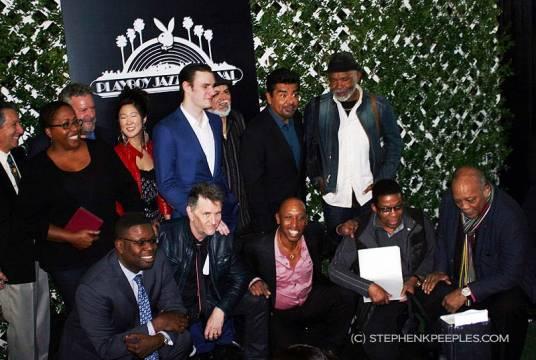 Playboy Jazz Festival press conference