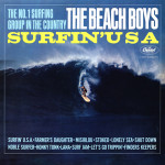 "The Beach Boys' ""Surfin' USA"" album cover"