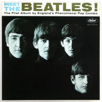 Meet The Beatles, the British band's first U.S. album on Capitol, released in January 1964.