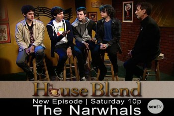 The Narwhals from Santa Clarita on SCVTV's 'House Blend' with host Stephen K. Peeples.