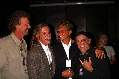 Peter Blachley, Gary Burden, Gerry Beckley and Henry Diltz