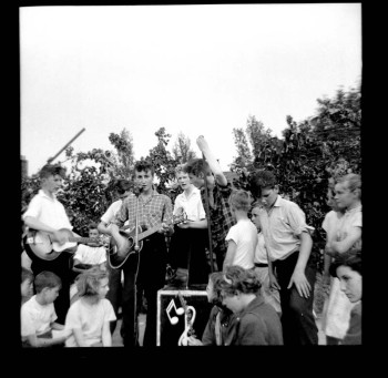 Lewisohn Beatles bio - The Quarry Men at the Woolton fete