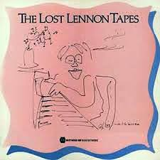 Lewisohn Beatles bio - Lost Lennon Tapes LP cover