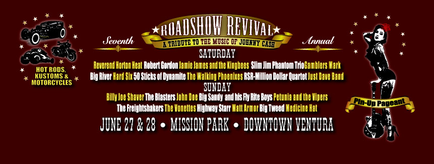Johnny Cash Roadshow Revival 2015 banner