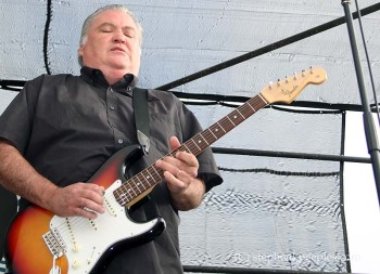 David Hidalgo of Los Lobos at Johnny Cash Roadshow Revival 2014 in Ventura