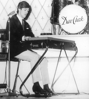 Mike Smith of The Dave Clark Five and his Vox Continental