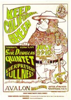Sir Douglas Quintet at Family Dog poster
