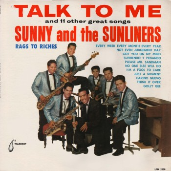 Sunny & The Sunliners 'Talk to Me' LP