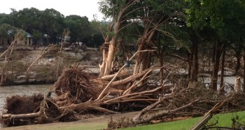 Wimberley, Texas flood damage May 2015