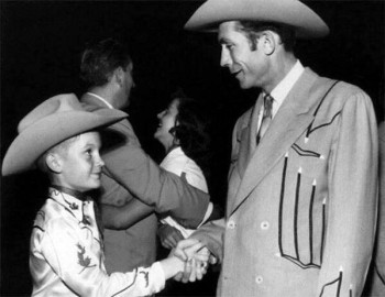 Doug Sahm and Hank Williams, Skyline Club, Austin, Dec. 1952