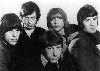 The Yardbirds, 1966 (from left): Jeff Beck, Jimmy Page, Chris Dreja, Keith Relf and Jim McCarty.