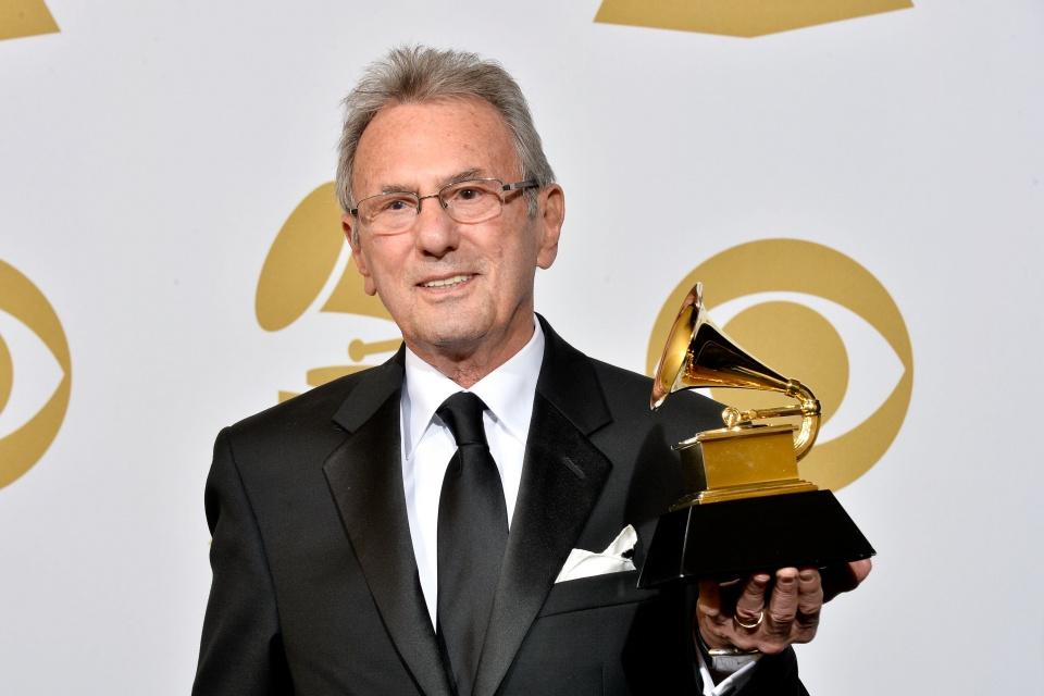 Al Schmitt at 2013 Grammy Awards. Photo: Frazer Harrison/Getty Images, courtesy Al Schmitt