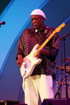 Buddy Guy at the Hollywood Bowl, June 12, 2011. Photo: Stephen K. Peeples
