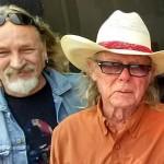 John Thornton and Boyd Elder, San Marcos, April 2015. Photo: Stephen K. Peeples.