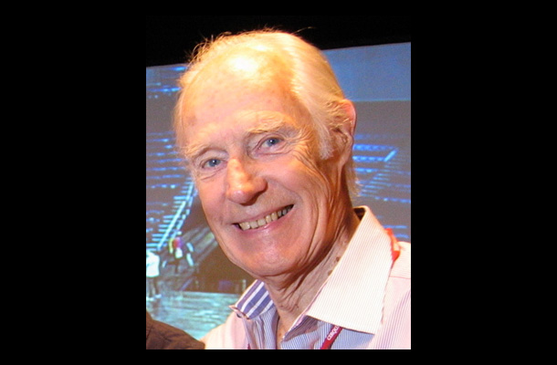 Sir George Martin in 2006. Photo: Adam Sharp.