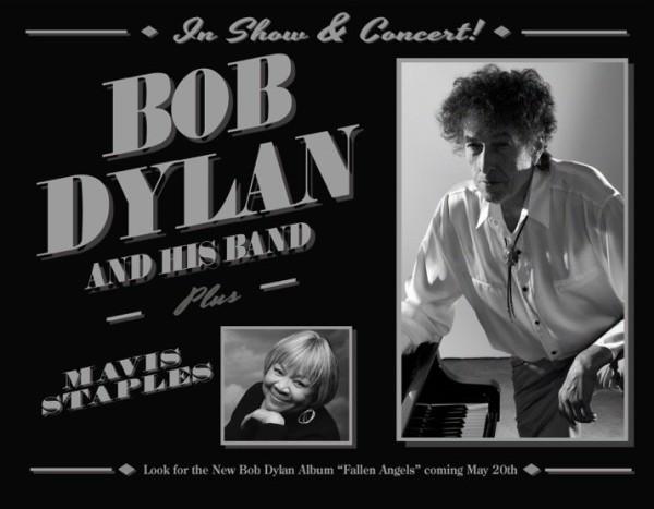Bob Dylan Never Ending Tour 2016 with Mavis Staples