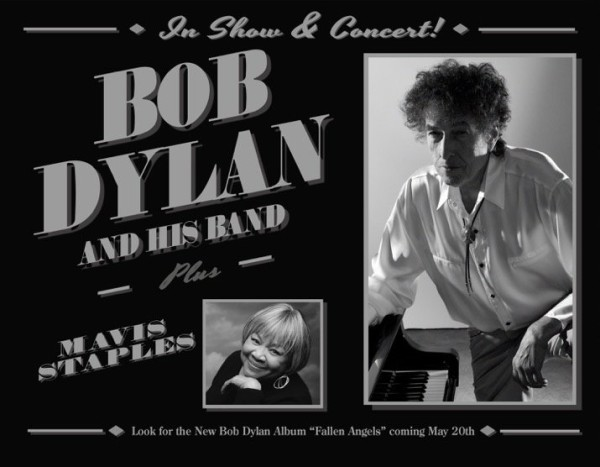 Bob Dylan Never Ending Tour 2016 with Mavis Staples