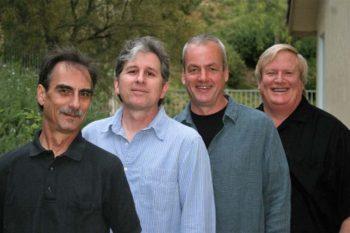 RainTree Jazz, Saugus, California, spring 2011: Stephen K. Peeples, Jim Hagen, Rod Bennett, Rusty Amodeo. Photo: Paige Hagen.