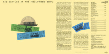 beatles hollywood bowl cover