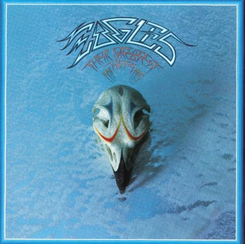 Eagles: Their Greatest Hits, with cover art by Boyd Elder.
